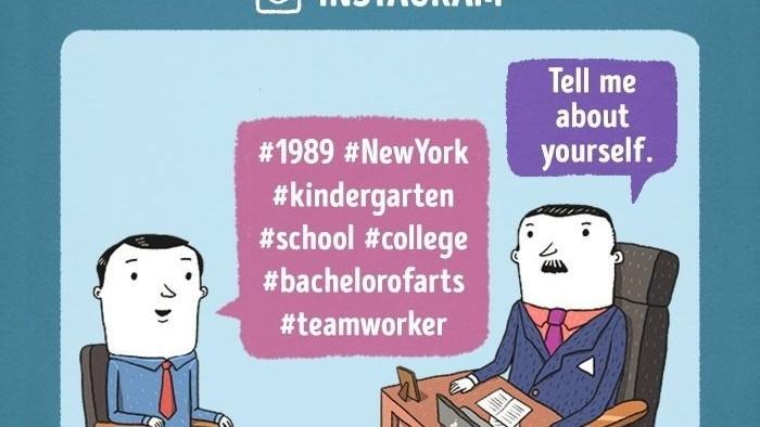 Ilustrații amuzante despre cum ar arăta interviurile de recrutare în cele mai celebre companii