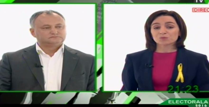 (video) Dodon și Sandu răspund provocării: Care sunt lucrurile bune în contracandidatul Dvs?
