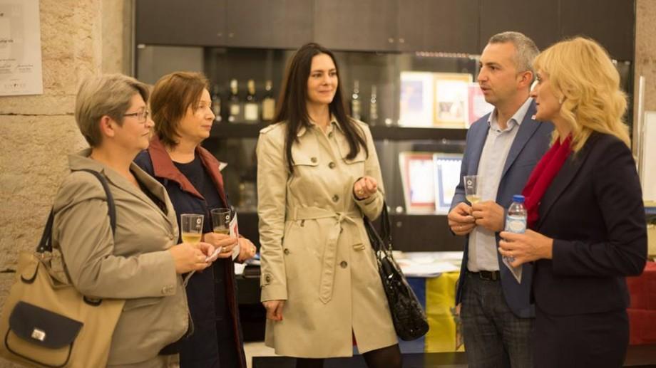 (foto) Bun e vinul ghiurghiuliu! În Portugalia a fost marcată Ziua vinurilor moldovenești