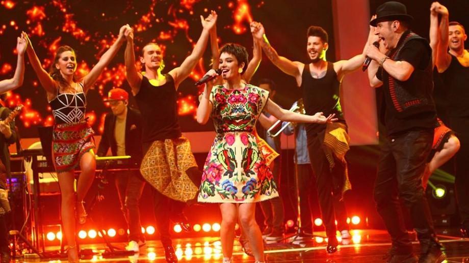 (video) Un bulgăre de energie! Olga Verbițchi și Roman Iagupov au deschis FINALA de la X Factor