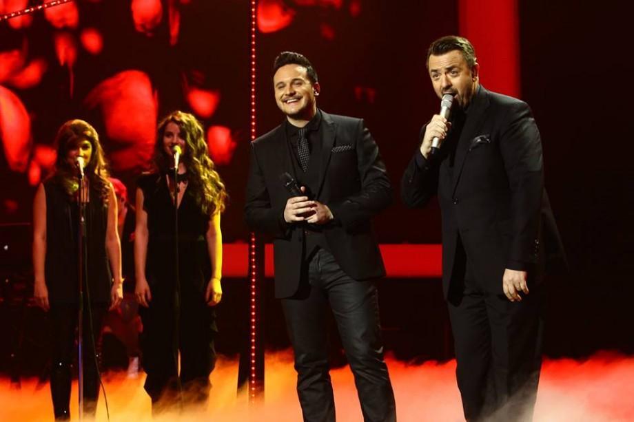 (video) FINALA X Factor: Marcel Roşca şi Horia Brenciu au făcut un duet cum rar ţi-e dat să auzi