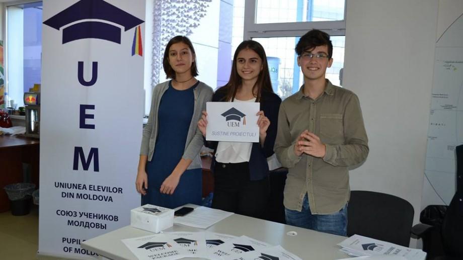 Schimbă-ți școala! Devino voluntar în cadrul Uniunii Elevilor din Moldova