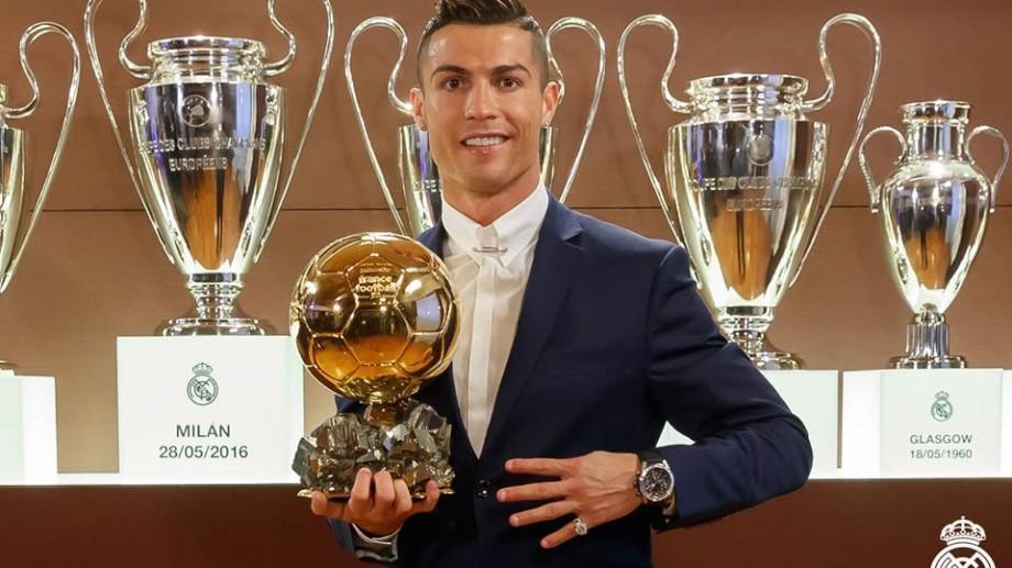 Cristiano Ronaldo este câştigătorul Balonului de Aur, ediţia 2016