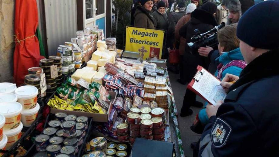 Produse alimentare alterate și păstrate în condiții anti-sanitare se vindeau pe străzile Chișinăului