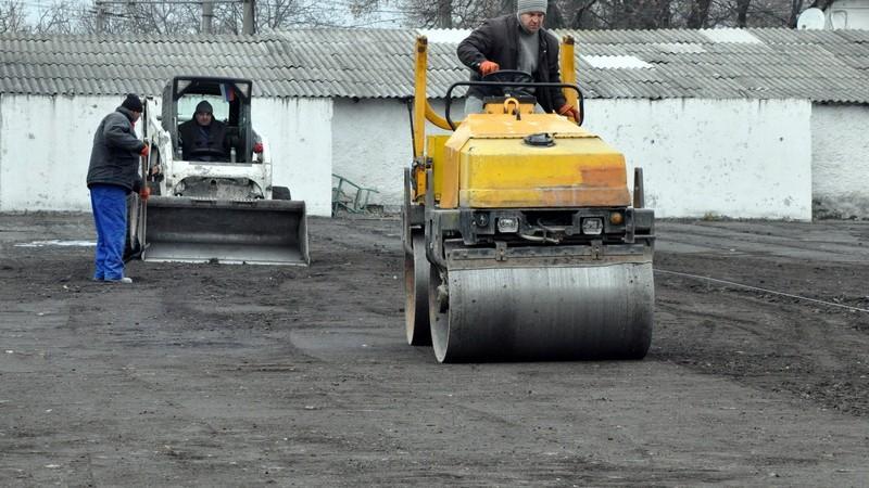(foto) Schimbarea la față a stadionului Dinamo. Cum decurge renovarea unicului stadion din Chișinău