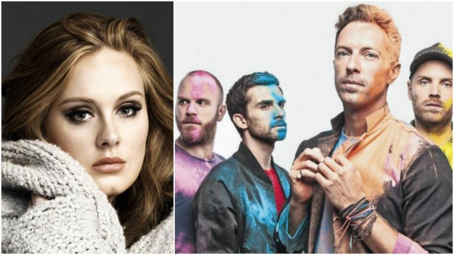 Adele și Coldplay au câștigat cele mai importante premii la BBC Music Awards