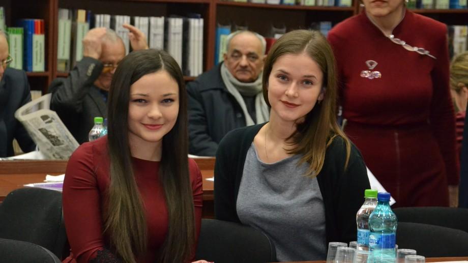 (foto) Bursa de Merit AGEPI: Două studente de la ASEM vor primi lunar câte o mie de lei