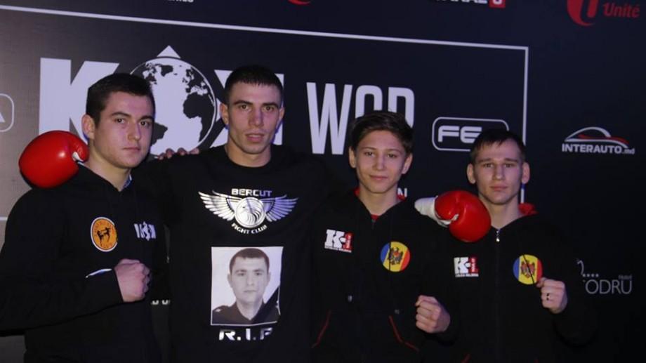 (foto) A luptat în memoria pompierului Ion Nogailîc și a câștigat în cadrul Galei KOK