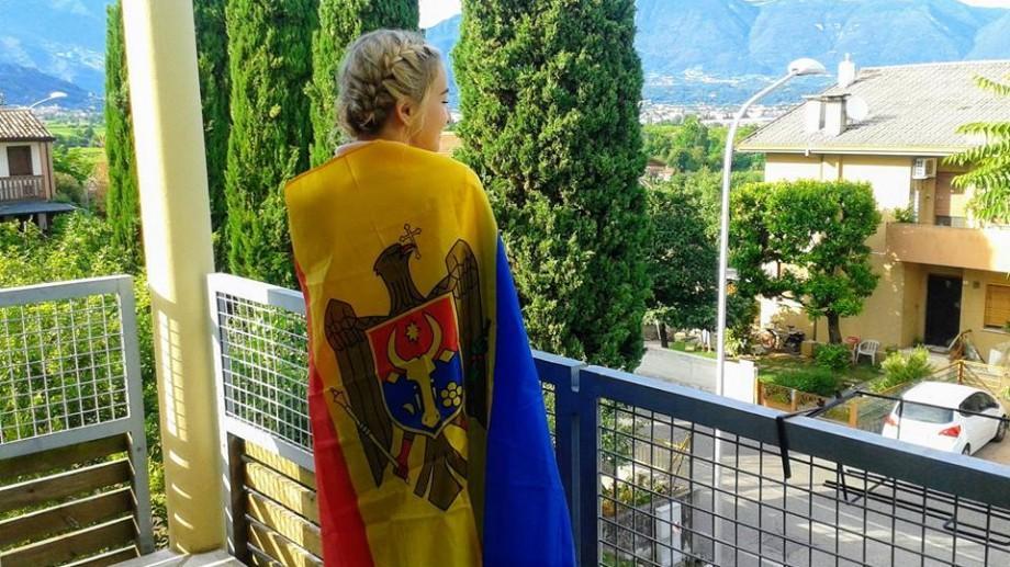 """(foto) Andreia Cojocari, voluntară în Italia: """"Încearcă! Încercarea vină n-are"""""""