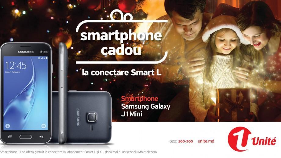 Comunicarea nu are limite! Samsung J1 mini cadou și 12 GB trafic internet la doar 200 lei, cu abonamentele Smart de la Unite