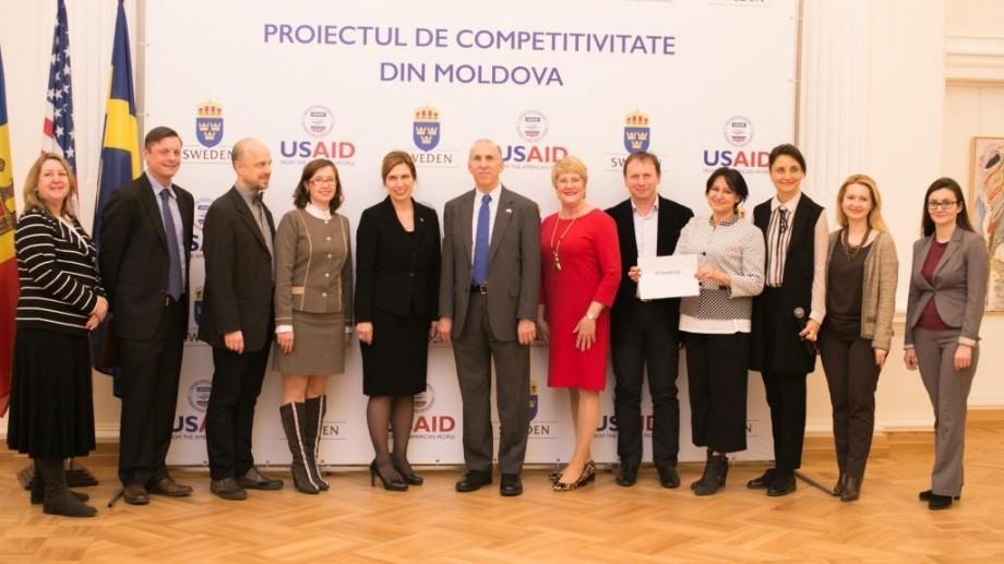 (foto) Investiții comune de peste 21 de milioane de dolari. Guvernul Suediei s-a alăturat USAID în implementarea Proiectului de Competitivitate