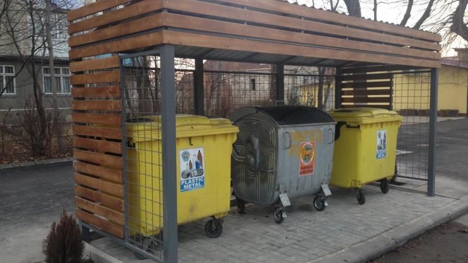 (foto) În Chișinău vor fi modernizate platformele pentru colectarea deşeurilor menajere