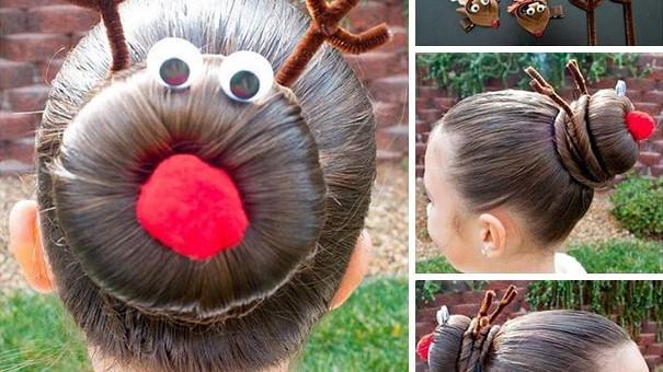 (foto) Top 10 cele mai creative coafuri de Crăciun