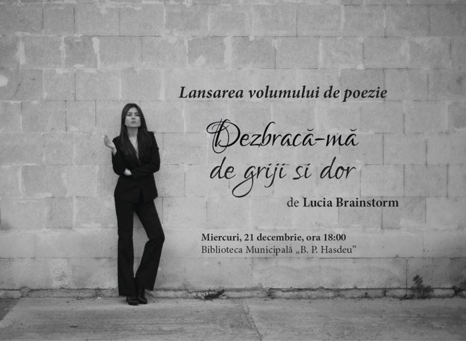 O tânără își lansează o carte la Biblioteca Hașdeu în scopuri caritabile. Veniți să o lecturați