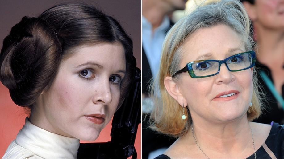 """Actrița Carrie Fisher, neuitata prințesă din """"Star Wars"""", a murit"""