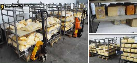 Revoltător! Peste 500 kg de cașcaval alterat urma să ajungă din nou în comercializare