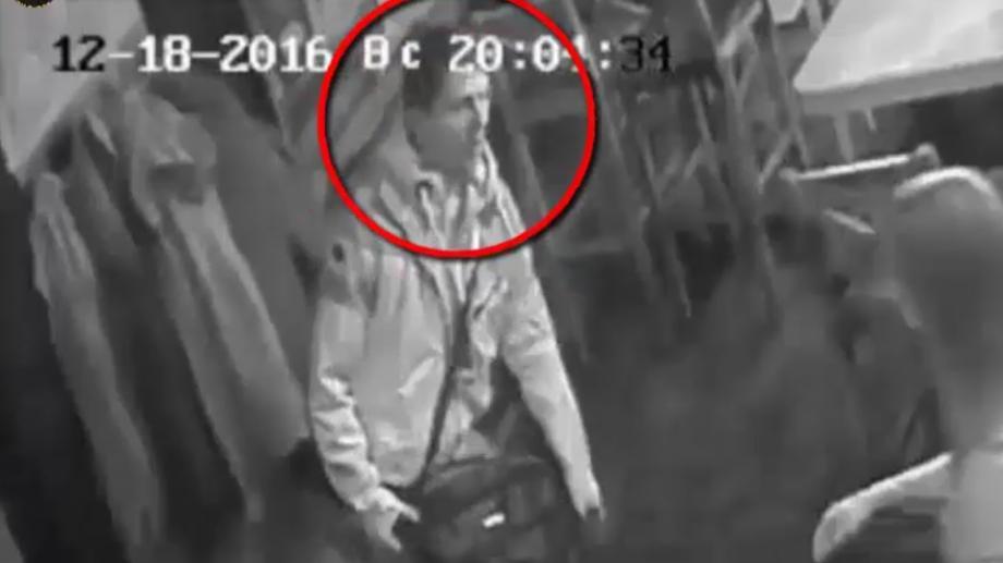 (video) Atenție! Acest individ este căutat pentru că a furat o scurtă de iarnă dintr-un local