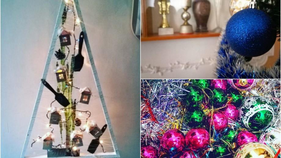 (foto, video) E sărbătoare în casele moldovenilor! Cum arată primii brazi decorați de internauți