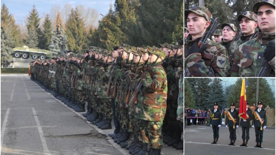 (video) Peste 600 de tineri, apărători ai Patriei, au depus jurământul militar