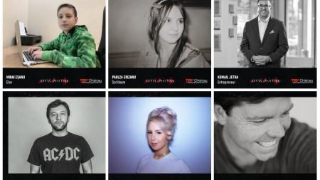 (foto) Lista completă a speakerilor care ne vor inspira duminică la TEDxChisinau Superposition