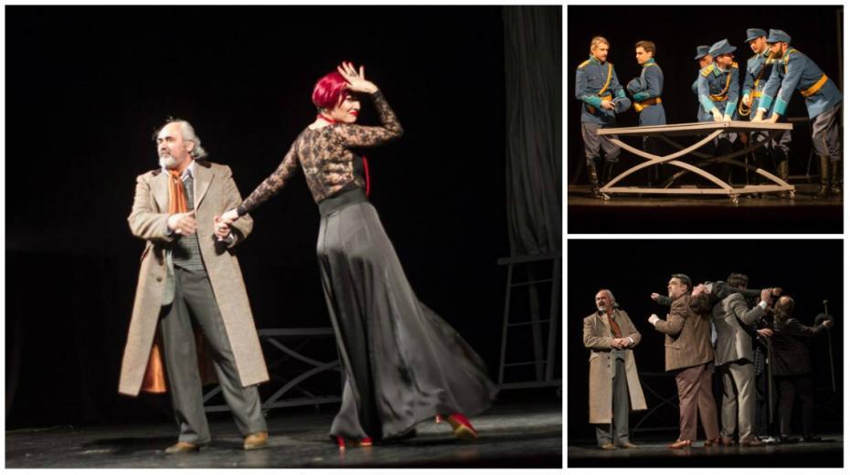 """(foto) Ropote de aplauze pentru ultima premieră a anului la Teatrul Naţional """"Mihai Eminescu"""""""