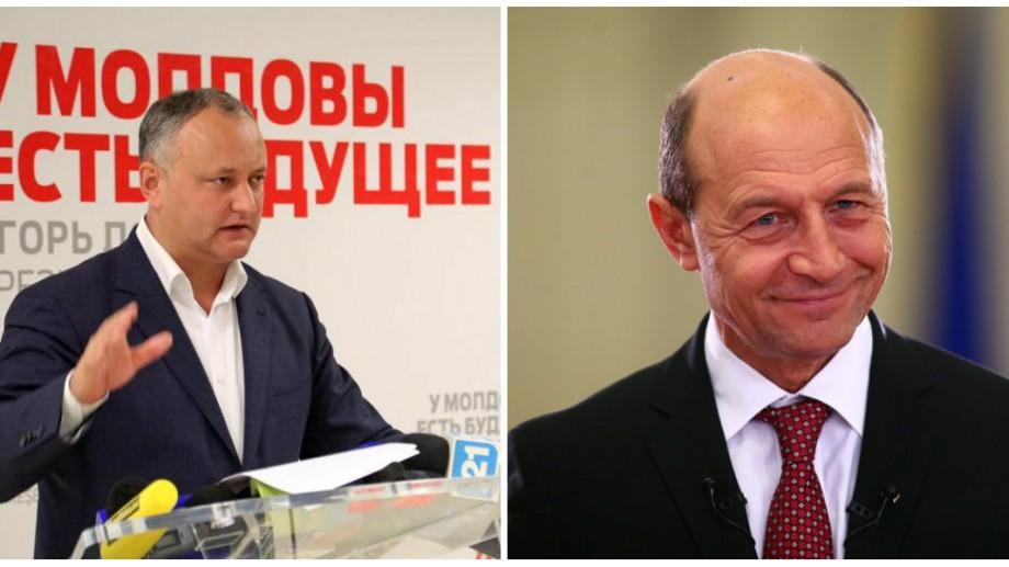 (video) Dodon s-a răzgândit și îi va retrage cetățenia Republicii Moldova lui Băsescu după Revelion