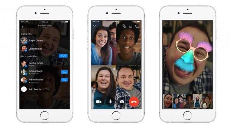 Acum poți face pe Facebook Messenger conferinţe video cu până la 50 de utilizatori