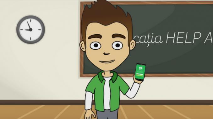 (video) HelpApp: Adolescenții în situație de risc au la dispoziție o aplicație mobilă care-i poate ajuta