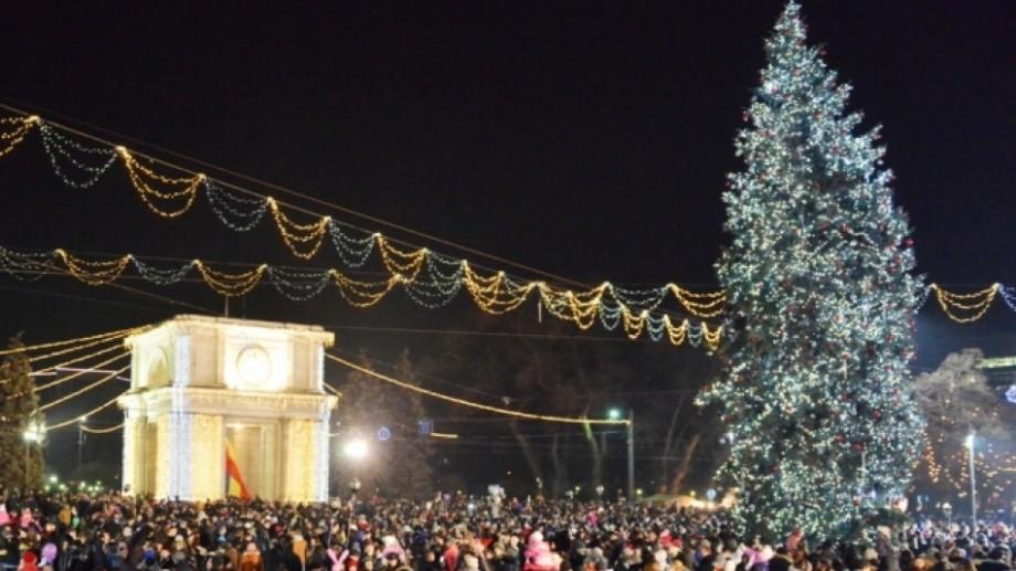 Un weekend cu colinde şi cântece, lângă Pomul de Crăciun din PMAN