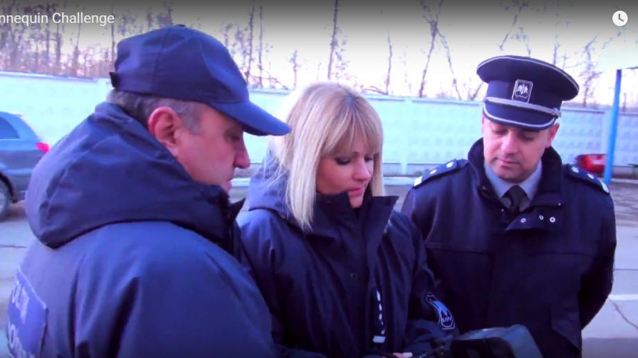 (video) Mannequin Challenge a ajuns și la un punctul de trecere a Frontierei din Moldova