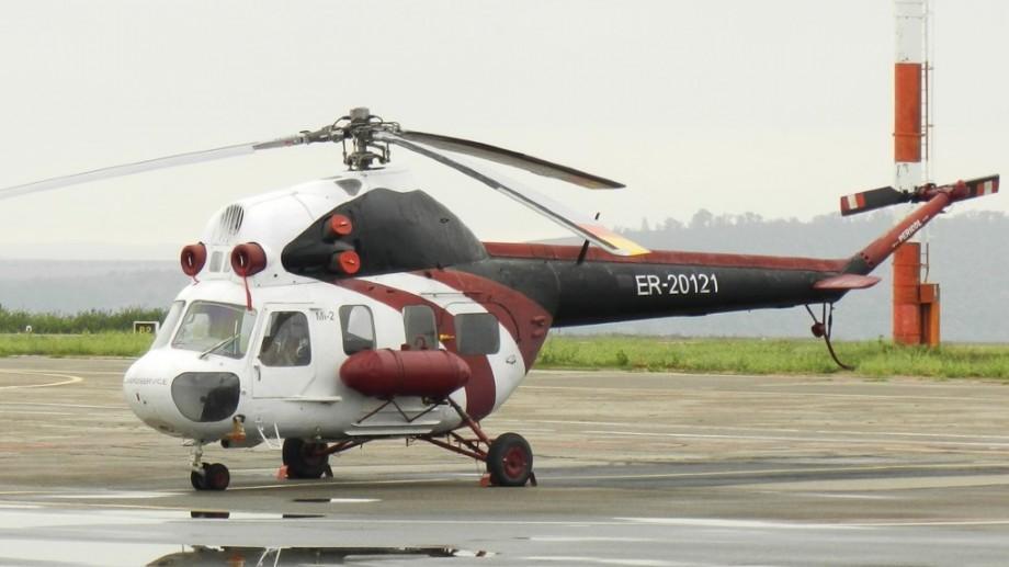 """Un elicopter a """"aterizat"""" pe teritoriul unei grădiniţe din Stăuceni"""