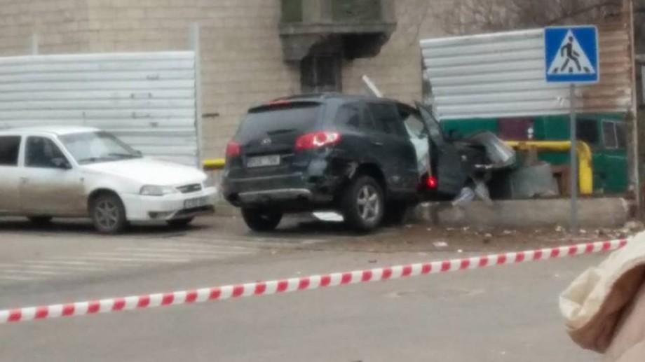 (foto, video) Declarațiile tânărului care a tamponat trei automobile și a intrat cu mașina într-o conductă de gaz