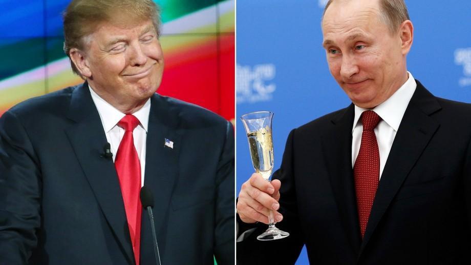 (doc) Mesajul  de Crăciun transmis de Putin lui Donald Trump, preşedintele ales al Statelor Unite