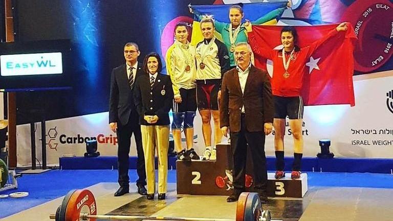 (foto) Încă o victorie! Argint pentru Moldova la Campionatul Europei de Haltere