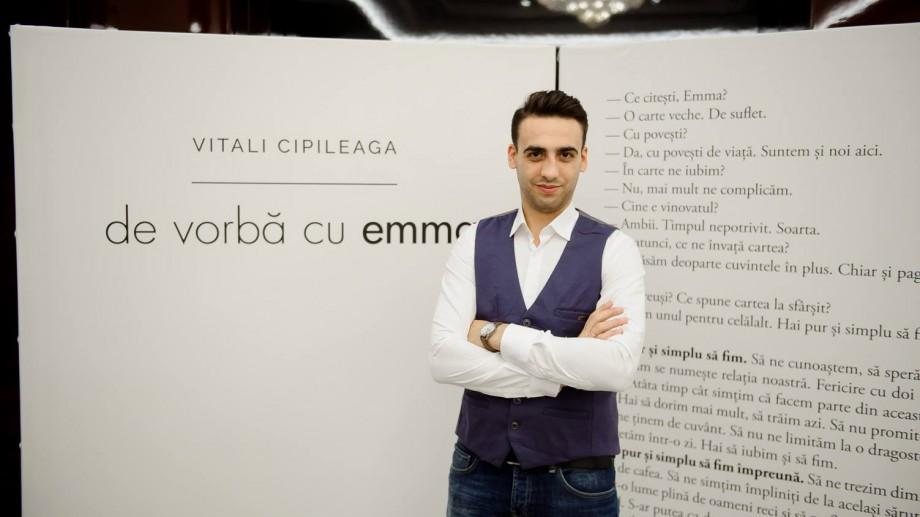 """Vitali Cipileaga, autorul cărții """"De vorbă cu Emma"""", va lansa în luna decembrie o nouă carte"""