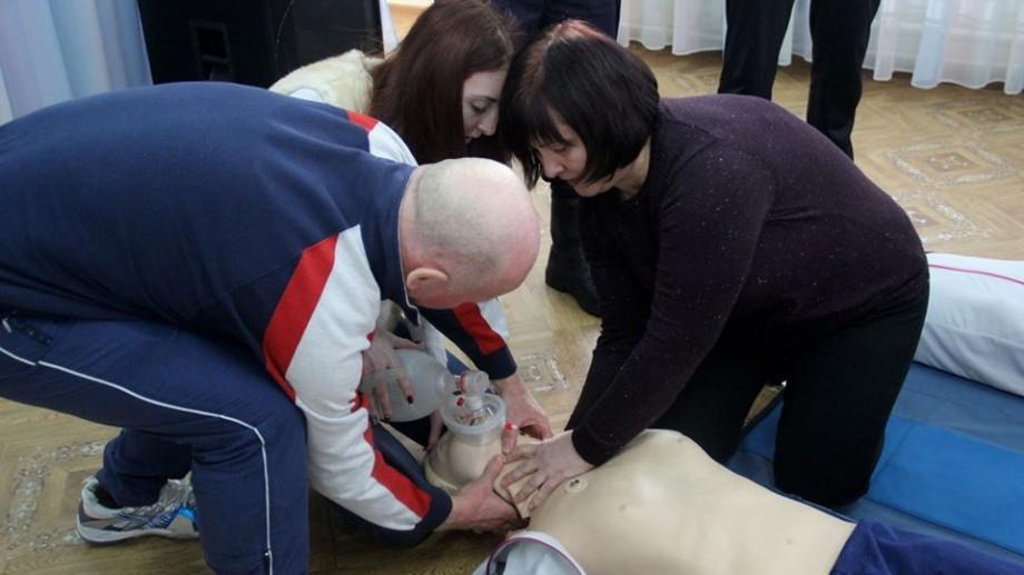 Pedagogii au fost instruiți să acorde primului ajutor în cazul situațiilor de risc
