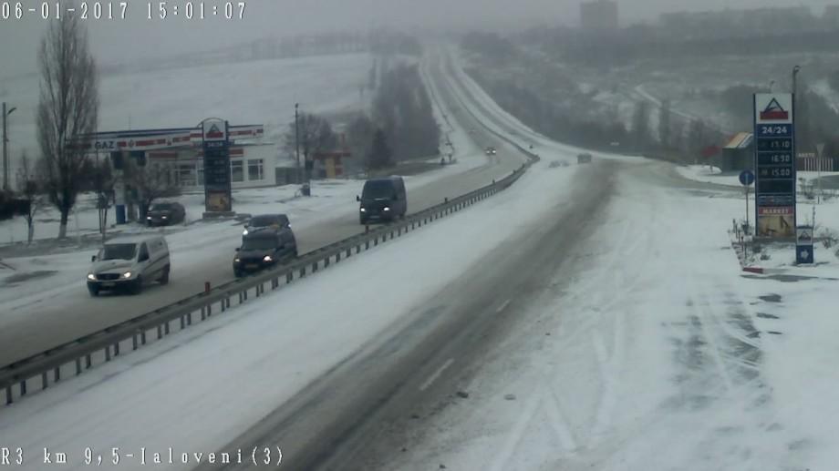 (foto) Urmărește LIVE cum se circulă pe drumurile din Moldova și care este situația în trafic
