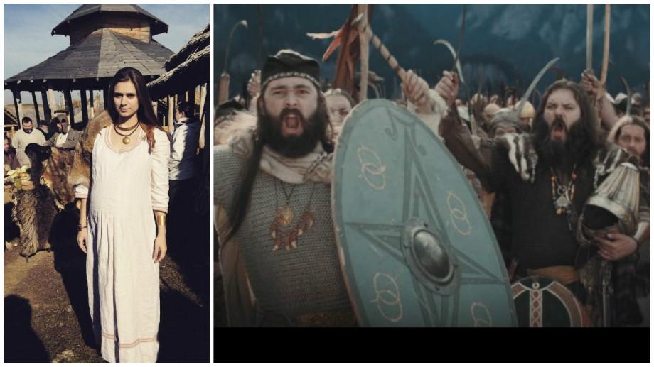 (video, foto) O basarabeancă va juca în primul serial românesc despre geto-daci