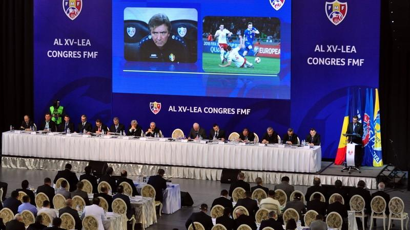 Pavel Cebanu a fost reales în funcţia de Preşedinte al Federaţiei Moldoveneşti de Fotbal