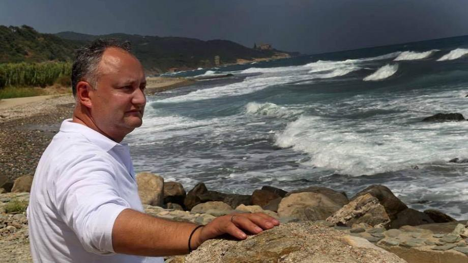 Ce destinație a ales Igor Dodon pentru a sărbători Crăciunul alături de familie