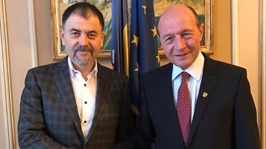 """Anatol Șalaru: """"Am discutat cu Traian Băsescu necesitatea construirii unei noi structuri politice"""""""