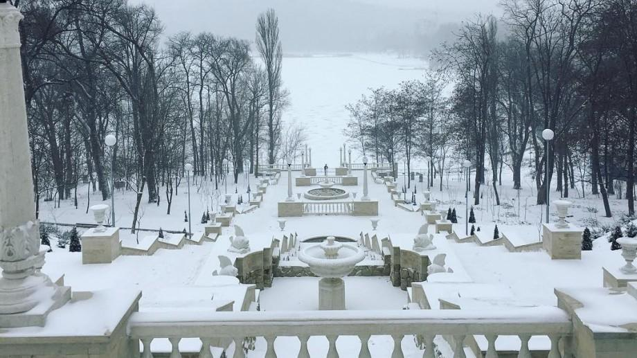 (foto) Iarna și-a intrat în drepturi! Cum se vede Codul Portocaliu de ninsoare pe Instagram