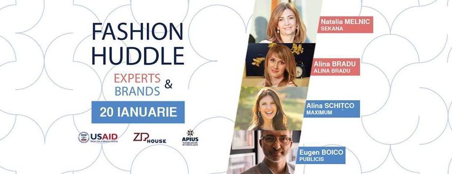"""Tinerii se pot inspira în crearea propriului brand fashion la """"Fashion Huddle"""""""