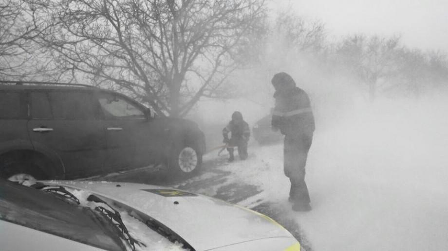 (foto) Situația la moment: 38 de localități sunt blocate din cauza zăpezii și a viscolului