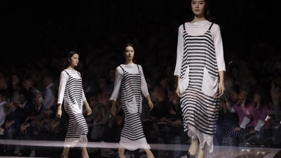 (foto) Designerul Julia Allert a participat la un eveniment de modă în China