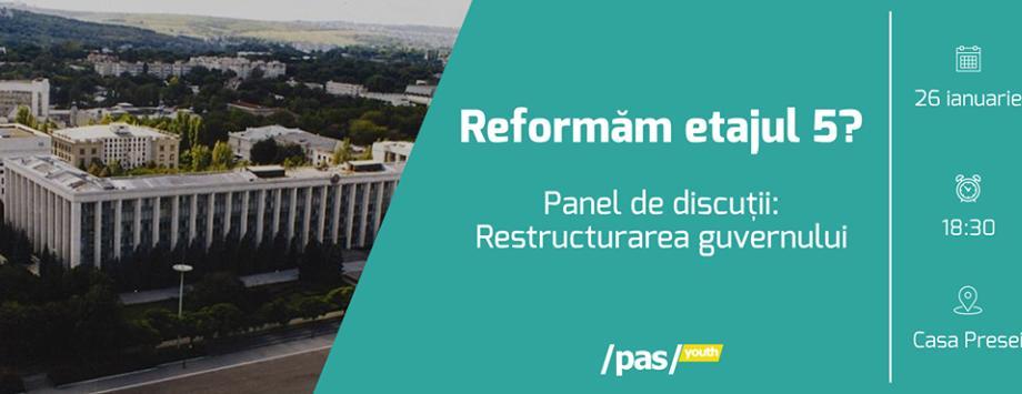 Maia Sandu va participa la un panel de discuții privind restructurarea Guvernului