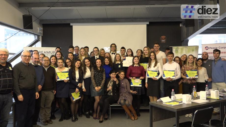 (video) Unde-s tinerii. De patru ani, Diamond Challenge Moldova naște oameni de afaceri de pe băncile liceului