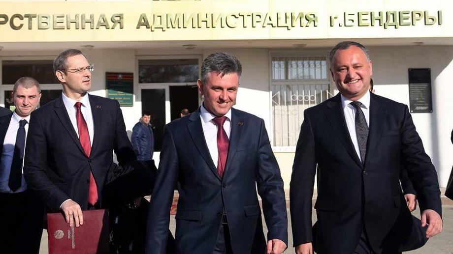 PAS susține că poziția lui Igor Dodon la întrevederea cu liderul de la Tiraspol a încălcat Constituția