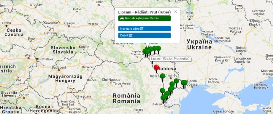 Util pentru călători! Verifică online care este timpul mediu de aşteptare în punctele de trecere a frontierei