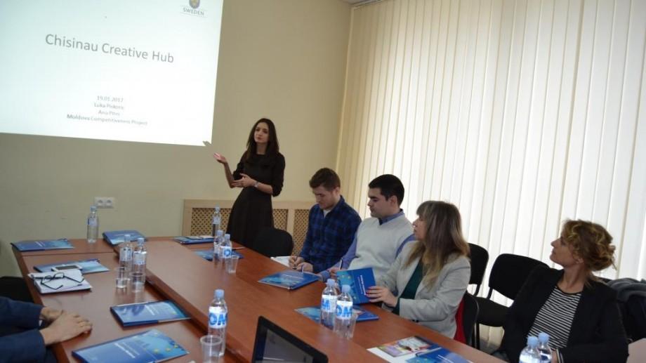(foto) Dezvoltarea industriilor creative în Moldova a fost discutată cu partenerii de dezvoltare